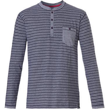 Pastunette For Men Mix & Match Shirt Blauw 4399-627-4 | 22148