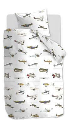 Beddinghouse Kids Dekbedovertrek Airplanes 22279