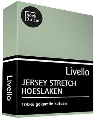 Livello Jersey Stretch Hoeslaken Pastel Green 22400