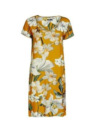 Essenza Dames Nachthemd Emmylou Rosalee Yellow 401472 | 22315