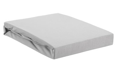 Beddinghouse Premium Jersey Lycra Topper Hoeslaken Light Grey 22473