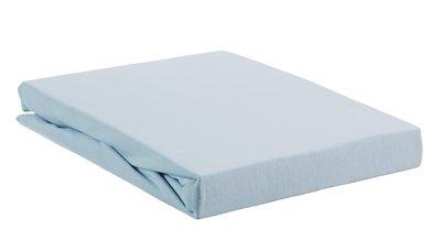 Beddinghouse Premium Jersey Lycra Topper Hoeslaken Light Blue 22476