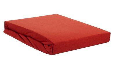 Beddinghouse Premium Jersey Lycra Topper Hoeslaken Coral Red 22478