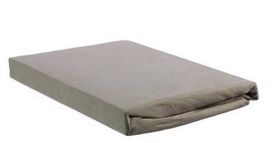 Beddinghouse Percale SplitTopper Hoeslaken Taupe 22516