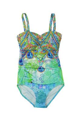 Mila Dames Badpak Turquoise-Blue-Green 23Y-28837H | 19201