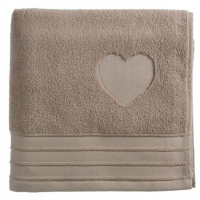 Riviera Maison Badgoed Heart Taupe 17098