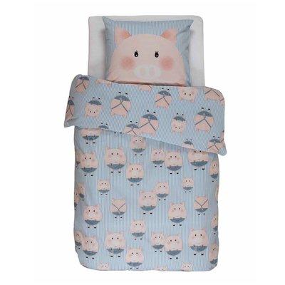 Covers & Co Dekbedovertrek Piggy Blue 55309-100NL-001 | 16582