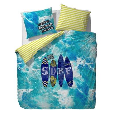 Covers & Co Dekbedovertrek Surf Blue 550288-100NL | 14864