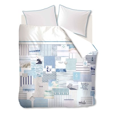 Riviera Maison Dekbedovertrek Sylt Beach Blue 16733