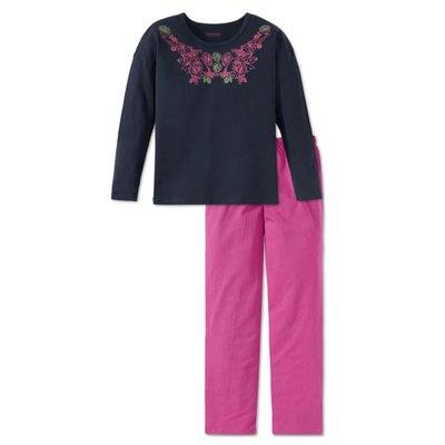 Schiesser Pyjama Blauw 158911 | 17800