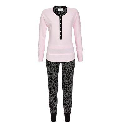 Cherie Line Pyjama tricot 613 Rose 7571206 | 17655