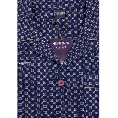 Gentlemen Pyjama Flanel Donkerblauw 941753 | 18160