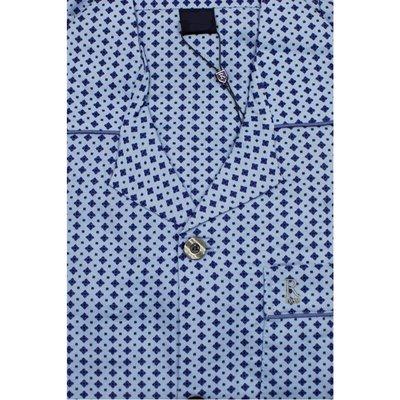 Gentlemen Pyjama Flanel Blauw 941000 | 16059