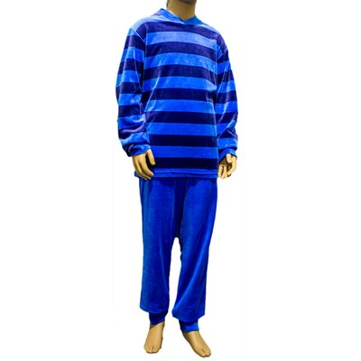 Lunatex Pyjama Velours Aqua 9411 | 18094