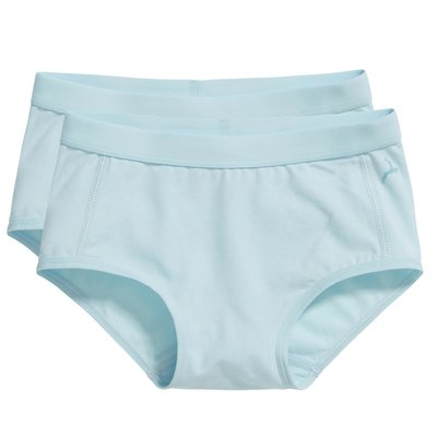 Ten Cate Girls Basic Brief Iced Aqua 30046 | 17513