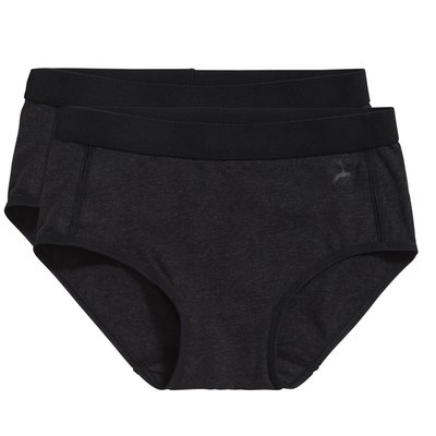 Ten Cate Girls Basic Hipster Brief Black Melee 30049 | 17522