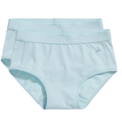 Ten Cate Girls Basic Hipster Brief Iced Aqua 30049 | 17523