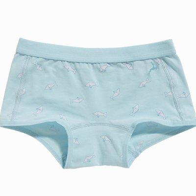 Ten Cate Girls Flash Short Origami Fish Blue 30086 | 17580