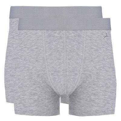 Ten Cate Boys Teens Basic Short Light Grey Melee 30042 | 17501