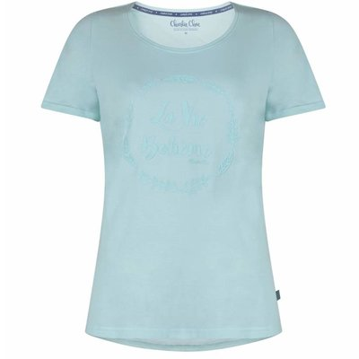 Charlie Choe Shirt Mint 38Y-27838 | 18905