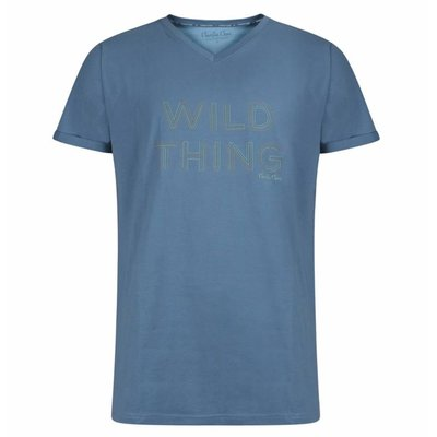 Charlie Choe Shirt Blauw 39Y-27867 | 18913