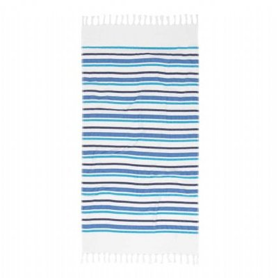 Esprit Hamamdoek Ize Stripe Blue 16624