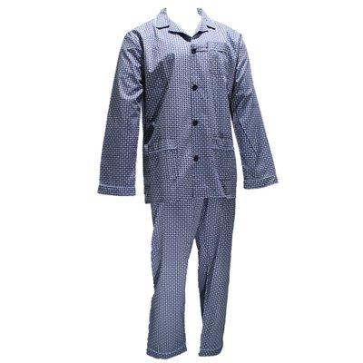 Gentlemen Pyjama Geweven Katoen Blauw 941000 | 18857