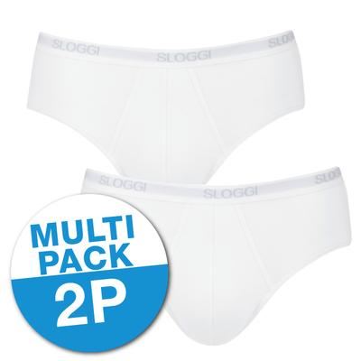 Sloggi Basic Midi 2-Pack Wit 10020412 | 10356