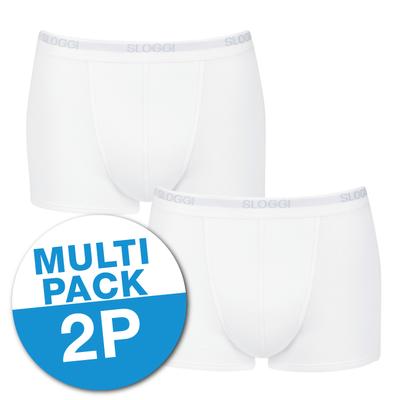 Sloggi Basic Short 2-Pack Wit 10020415 | 10359