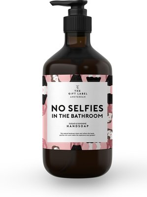 The Gift Label Handsoap No Selfies