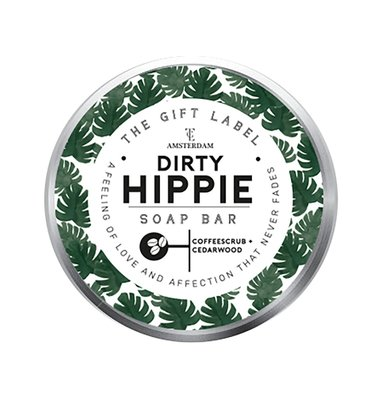The Gift Label Soapbar Dirty Hippie 16895