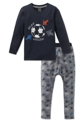 Schiesser Pyjama 200 Grey 163452 | 19602