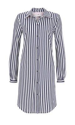 Cherie Line Nachthemd 286 Nachtblauw 8571001P | 19776