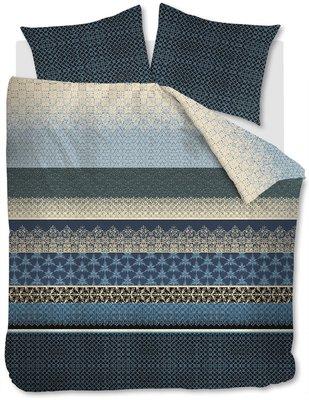 Beddinghouse Dekbedovertrek Linear Leaf Blue/Grey 19805