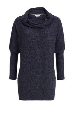 Ringella Solo Per-Me Shirt 260 Indigo Melange 7538401C | 19661