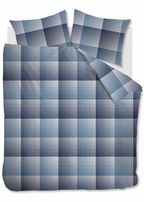 Beddinghouse Flanel Dekbedovertrek Graham Blue 20017