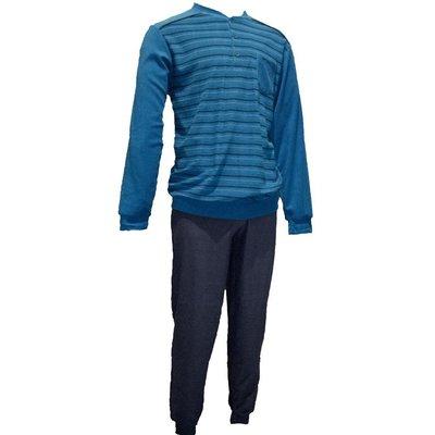 Gentlemen Badstof Pyjama Petrol 11-4150 | 20006