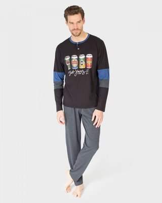 Massana Pyjama 019 Zwart P681322 | 19835