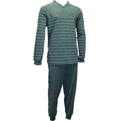 Gentlemen Badstof Pyjama Groen 11-4149 | 20092