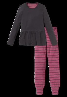 Schiesser Pyjama 203 Antraciet 163226 | 19666