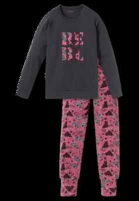Schiesser Pyjama 203 Antraciet 163235 | 20058