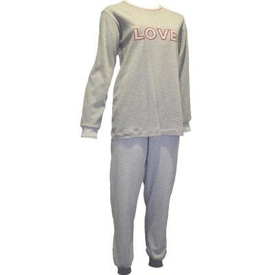 Lunatex Pyjama Grijs 12-4124 | 20129