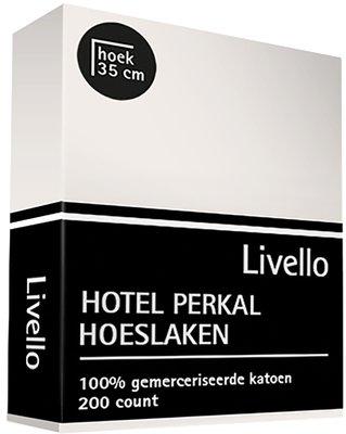 Hotel Collection Perkal Katoen Hoeslaken Ivoor PK35IV HL   493-495-498