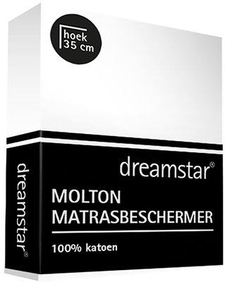 Dreamstar Molton Hoeslaken 100% Katoen 20158 t/m 20160