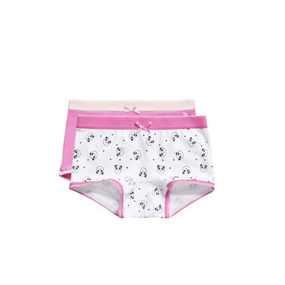 Ten Cate Girls 2-Pack Short Fuchsia/Wit 30826 | 19947