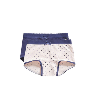 Ten Cate Girls 2-Pack Short Navy/Roze 30826 | 19948