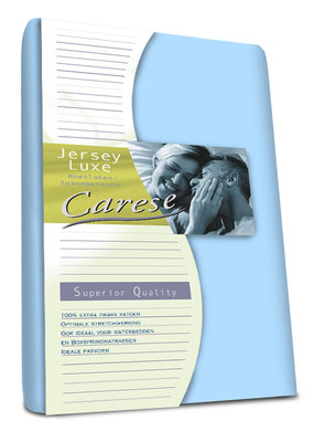 Carese Jersey Hoeslaken Blue 18540