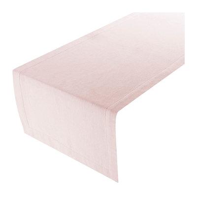 Linen&More Tafelloper Light Pink 20603