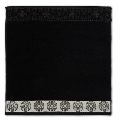 DDDDD Keukendoek Lace Black 10964