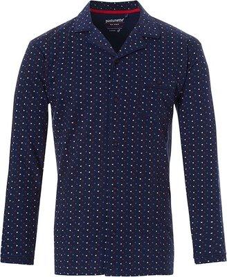 Pastunette Mix & Match Doorknoop Shirt Blauw 4399-624-6 | 20840